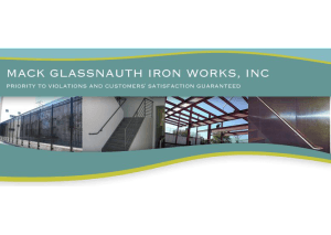 Mack Glassnauth Iron Works